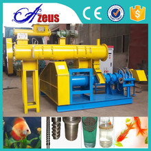 Floating fish feed pellet machine/floating fish feed machine/fish feed extruder