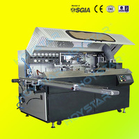 Full automatic 1color silk screen printing machine on plastic cans