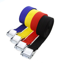 25mm Ratchet Cam Buckle Strap Nylon Cargo 1-5M Metal Tie Down Belt for cargo Lashing strap