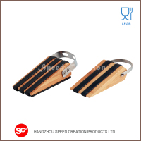 Factory directly provide wooden door stopper