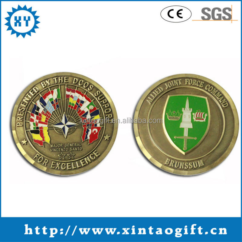 Shield epoxy coating gold plated coins