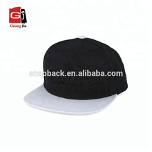 OEM Design Your Own 3D Embroidery Custom Strap Back Snapback Hats For Sale