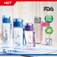 Promotional Gift BPA Free children school kids hot plastic water bottle
