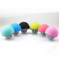 Mini Portable Bluetooth Speaker Hands Free MP3 Player For iphone Samsung LG Xiaomi Mobile Phone Cute Cartoon Mushroom speaker