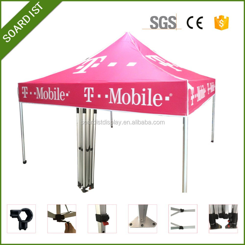 custom design&logo print folding tents and marquee for sale