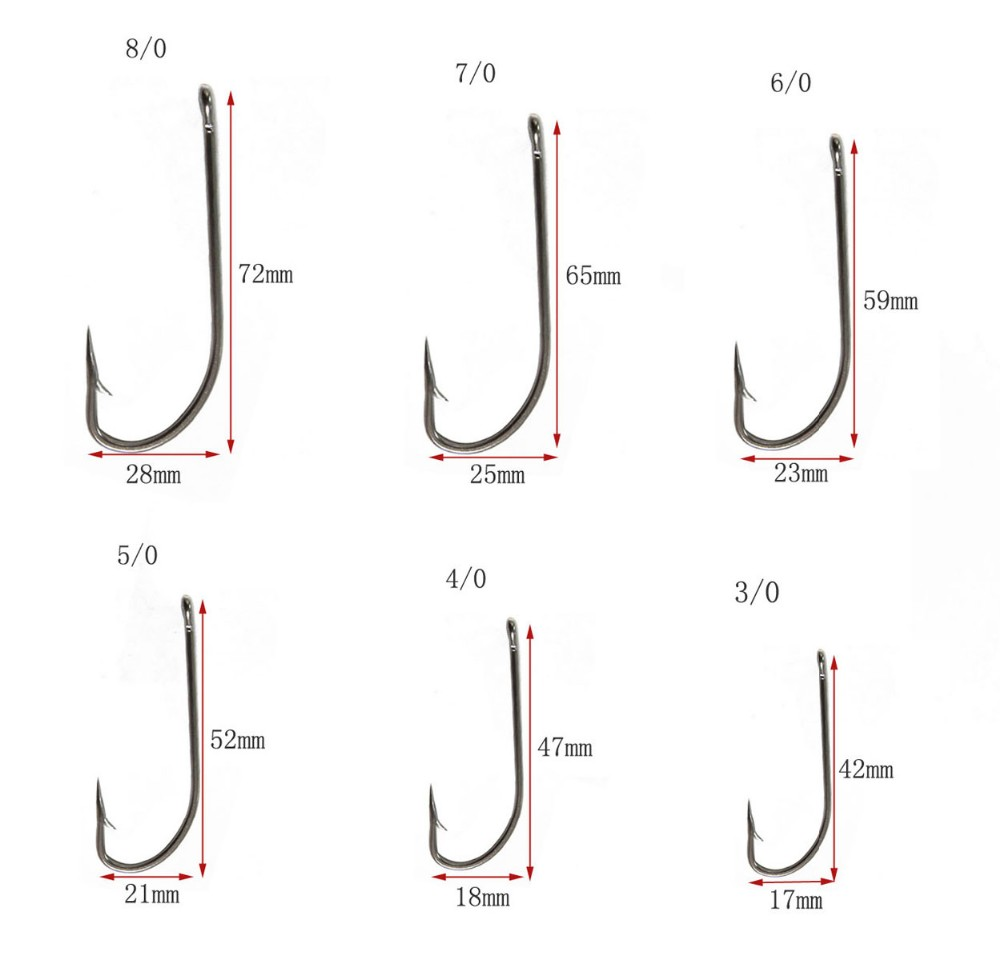 wholesale high quality 34007 stainless steel fishing hook JSM01-2004