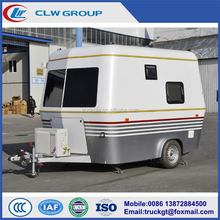 OEM or Customized Fiberglass Material Small RV Travel Trailer