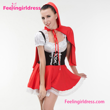 Halloween Party wear Fancy Dress Maid Cosplay Costumes For Women