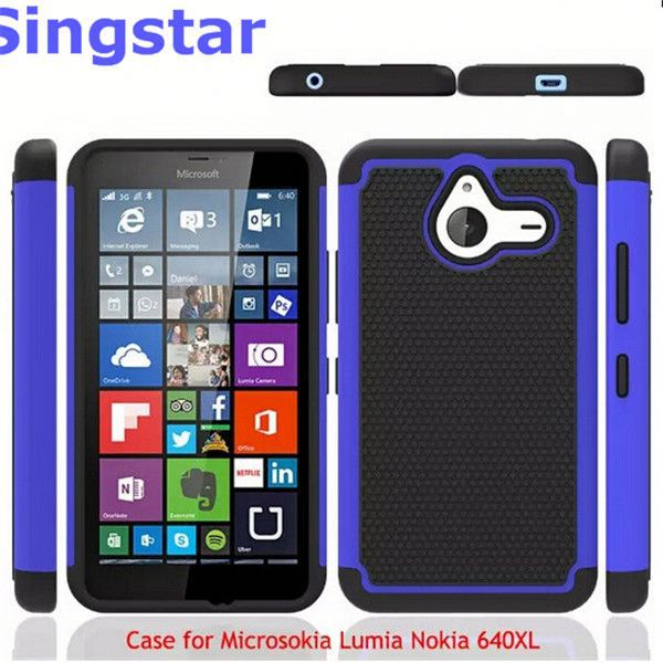Shockproof Heavy Duty Tough Hybrid Rubber Silicone TPU Football Skin Back Cover Hard Case for Nokia Lumia 920