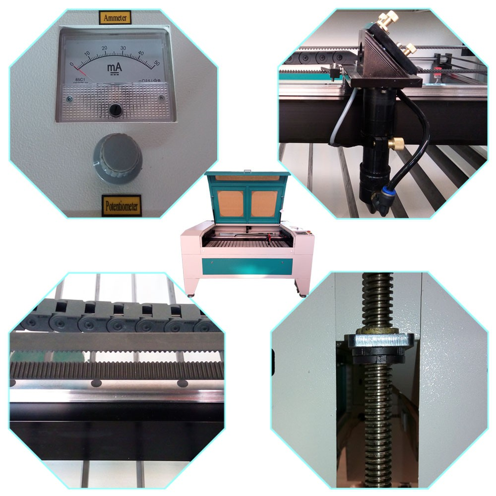 100w CO2 1390 1410p decorations laser cutting machine