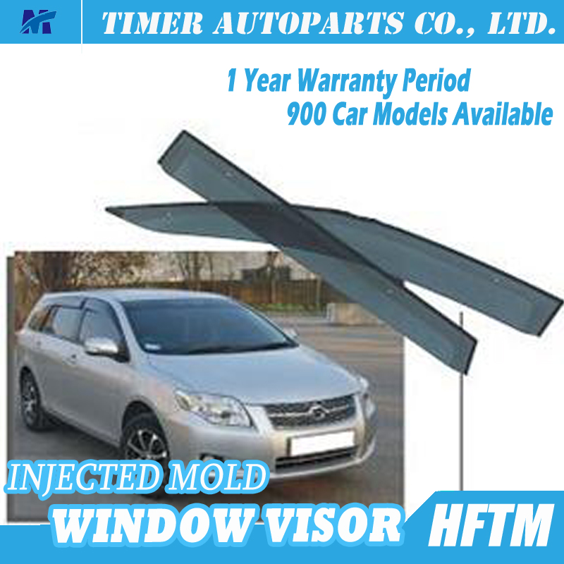 car window wind deflectors for toyota 07-11 FIELDER