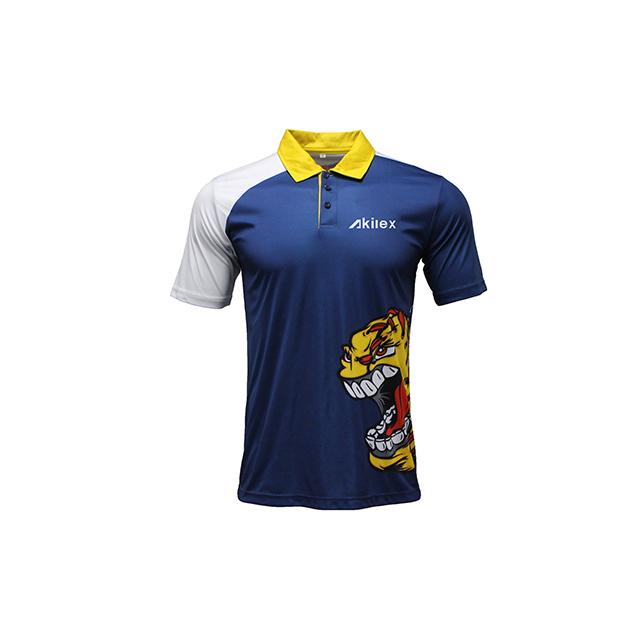 Dry Fit 100% Polyester Mens Polo Shirts
