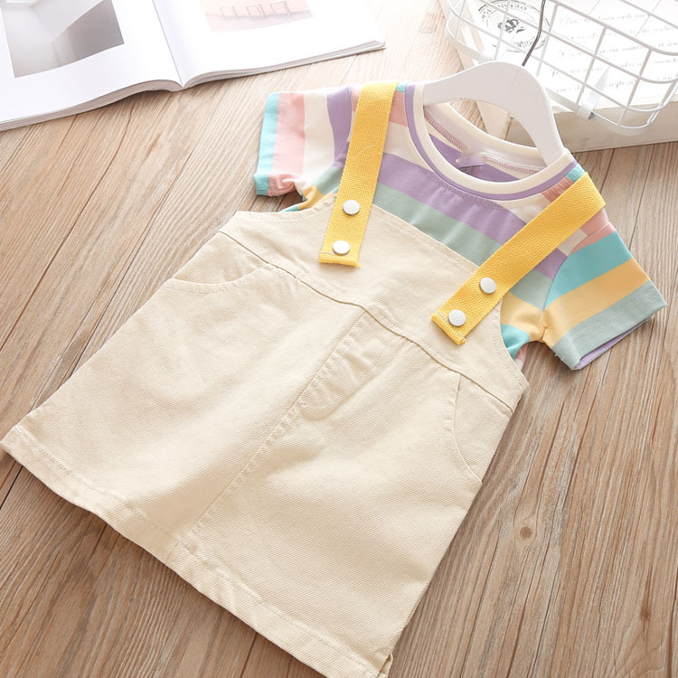 2018 bulk wholesale designer summer kid girl children sets with good quality and service