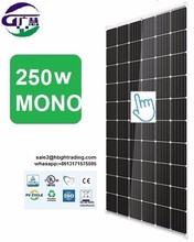first-rate 250w 255w mono solar panels from Chinese supplier