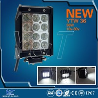 Wholesales 4 row CE Rhos Emark Dot Automobile Driving 4 Inch 36w four rows LED Light Bar