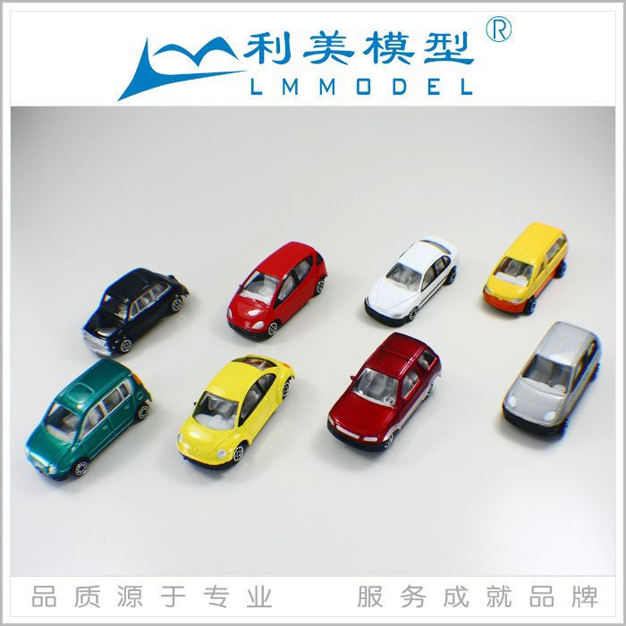 HO Plastic toy Scale Model Car for train layout / architectural model materials,C64-8