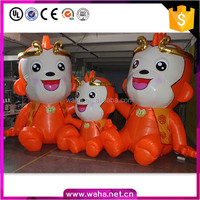 2016 inflatable monkey cartoon animal for advertising