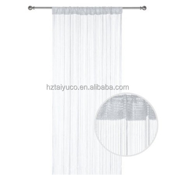 100% Polyester Room Divider Curtain Door Window String Curtain of Home Decoration