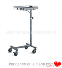 S.S hospital surgical table/surgical trolley