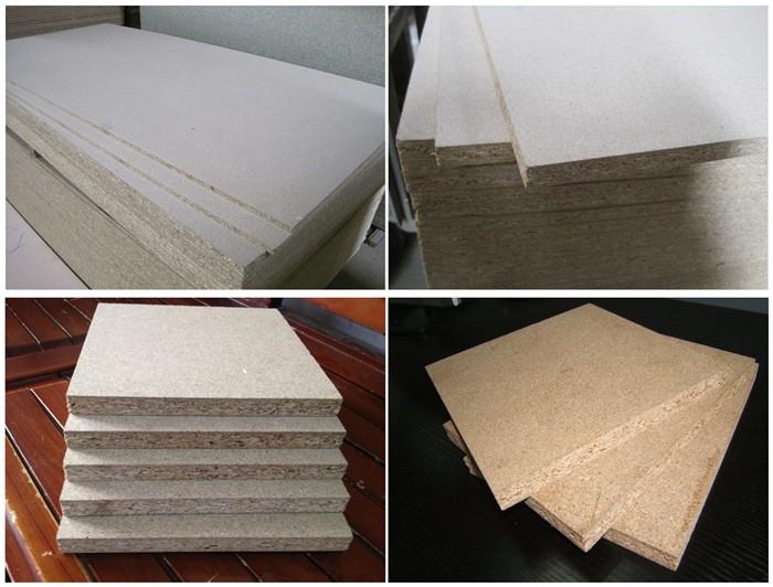 Melamine laminated particle board home furniture design