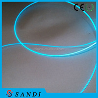 PMMA plastic side light optical fiber for any model