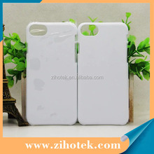 Wholesale heat transfer 3D sublimation phone case printing for iPhone 7