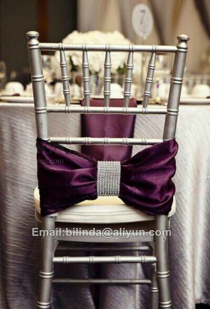 2017 New wholesale chiavari chair covers for weddings with high quality