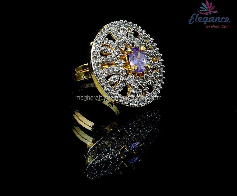 WHOLESALE INDIAN AMERICAN DIAMOND FINGER RINGS