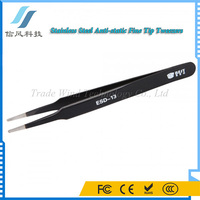 BST-EDS-13 Stainless Steel Anti-static FineTip Tweezers Professional