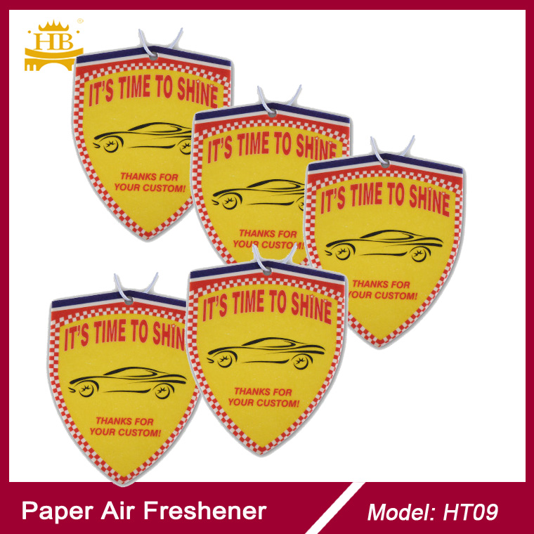 Absorbable cotton paper magic tree car paper air freshener