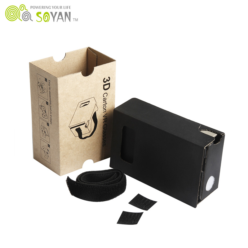 Customized Logo Or Design Google Cardboard 2.0 Best 3D VR 2.0 Glasses Corporate Gifts From Professional Factory