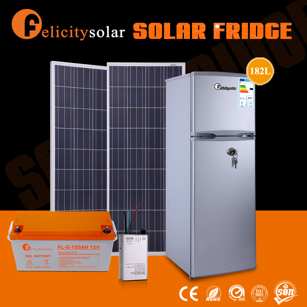 hot selling new product solar refrigerator 12v <strong>0</strong>.68kwh Consumption for 24h