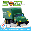 New design kids gift sliding postal diecast tanker truck model