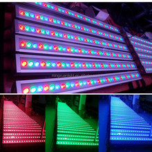 Outdoor professional factory price 36pcs 3in1 rgb led wall washer strip stage light