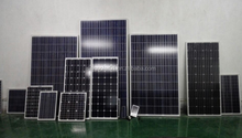 200W Polycrystalline Competitive Price Cheap Transparent Solar Panel 125*125mm Solar Cell