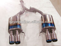 titanium auto exhaust system parts for Toyota