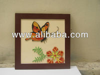 animal quilling picture, handmade quilling DSC 01097