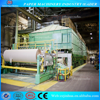 1760mm High Quality Carton Box Paper Making Machine, Corrugated Paperboard Production Line