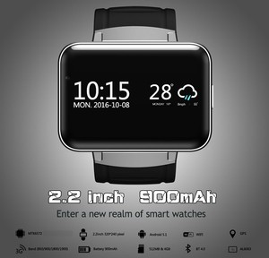 Wholesale 2.2 inch big display touch sreen watch with 3G wifi smartwatch