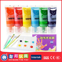 Painting set Factory Directly Provide Non toxic finger paint for kids