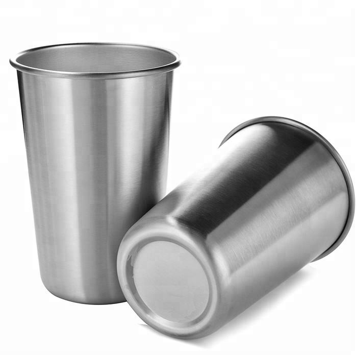 Eco-friendly BPA and Lead Free Cups Premium Stainless Steel Cup With Straw