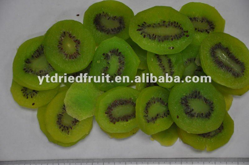 Preserved kiwi fruit (with green color added)