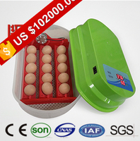 Auto controlling and alarm poultry incubator