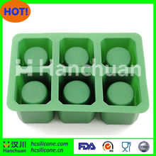 Silicone ice cube tray shot glass