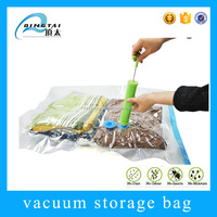 Clear clothes storage customized vacuum plastic bags
