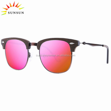china replicas sunglasses polarized italy sun glasses acetate metal lentes de sol bamboo