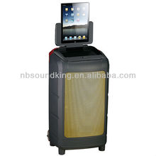 professional portable speaker system WI108ID/WI108IM(support ipad iphone ipod))