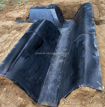 Exclusive Designed Rubber Channel Canal For Water Transporting