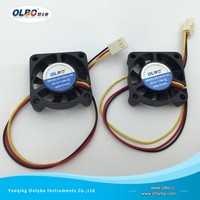 "5V 12V 24V 40mm x 40mm x 10mm 1.57"" 2/3Pin Small Squirrel Cage Fans 4010 Double Cooling Fan Customized"
