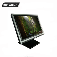 OEM Available 13.3'' TFT LCD Resistive Touch Screen Monitor 4:3 Ratio for POS ATM